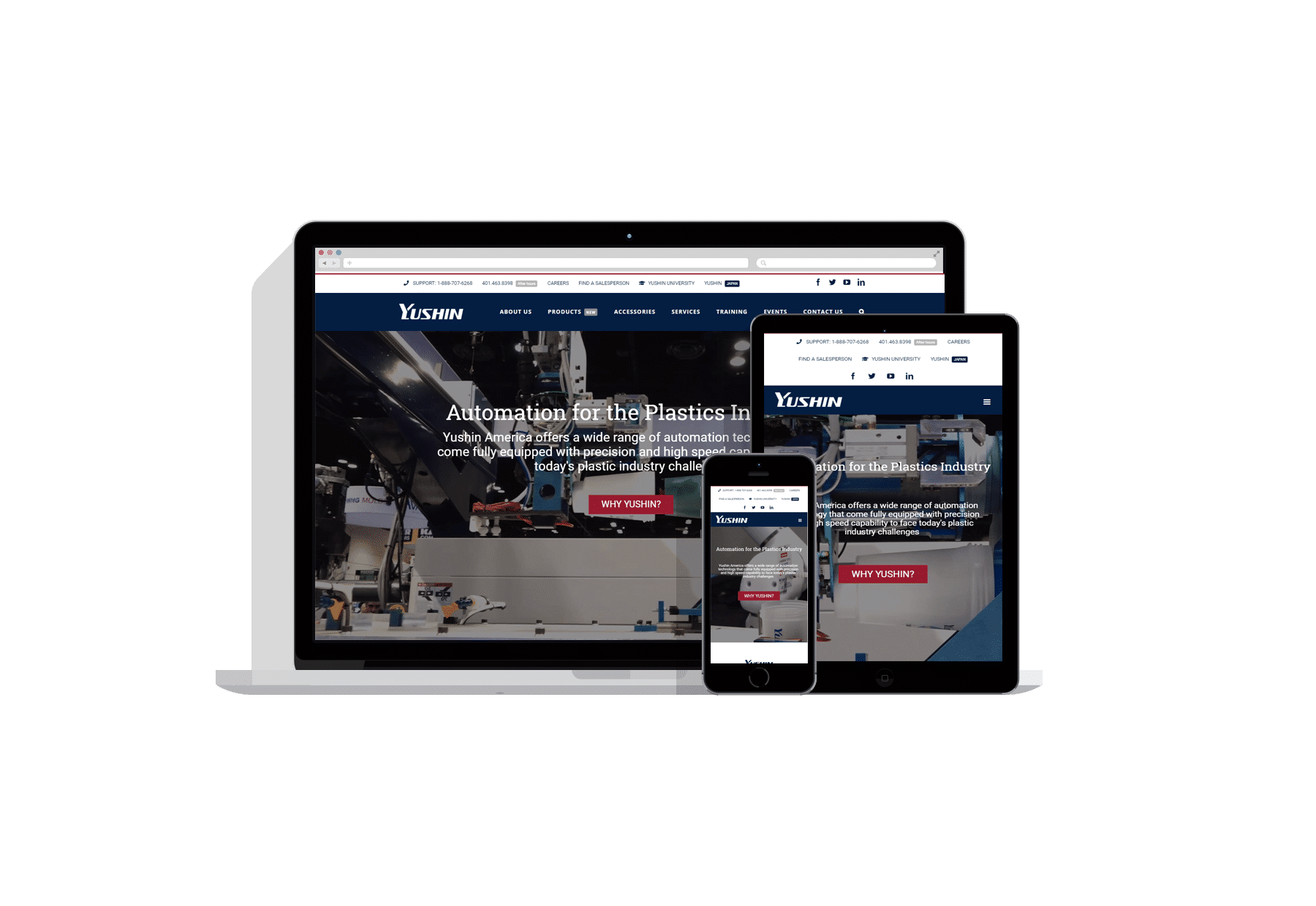 Plastic manufacturing website