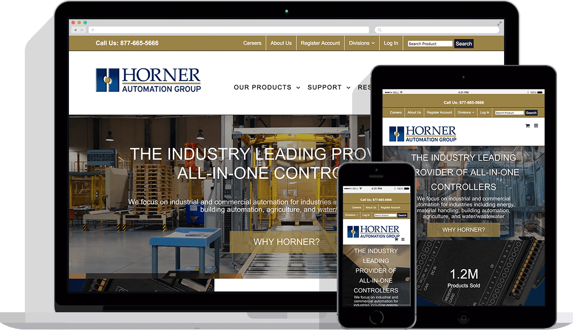 companies that do industrial web design
