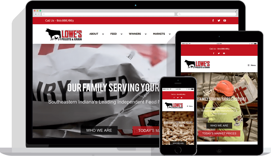 agriculture industrial website