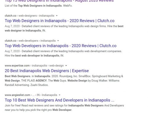 Who's the Best Web Designer in Indianapolis?