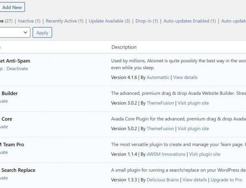 How to Update WordPress Website Plugins
